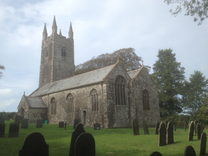 Cornish Church tower structural repair