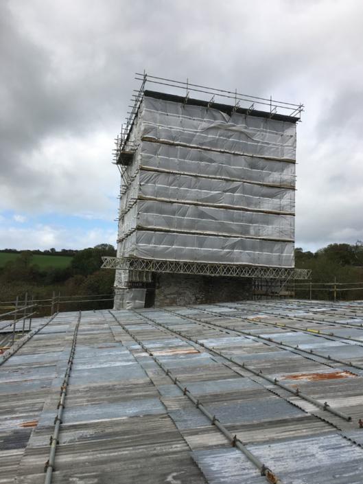 Lanteglos scaffold 2