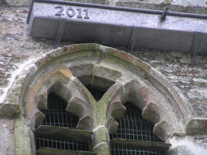 The Roseland ,stonework and lead