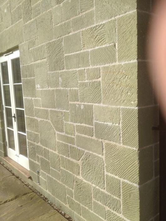 copying local vernacular in new stonework