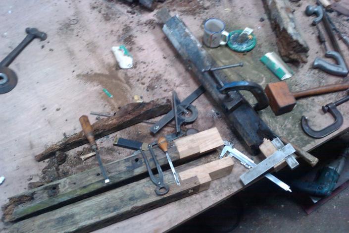 joinery repair to mullion