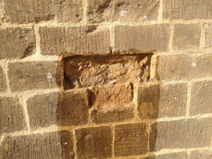 south dorset , mortar repair before