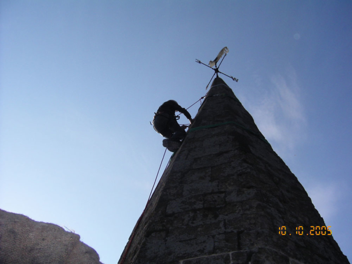 spire , rope access