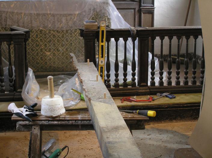 sympathetic timber repair