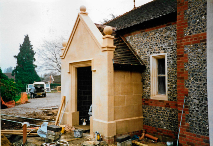 Henley bath stone porch