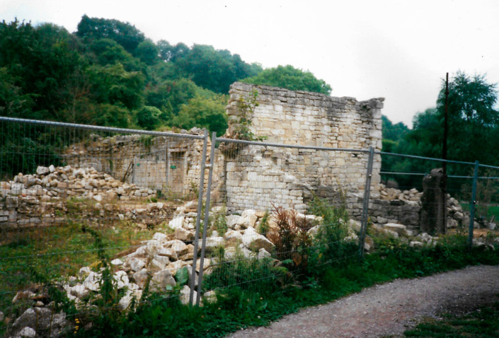 bradford on avon tythe barn west elevation before