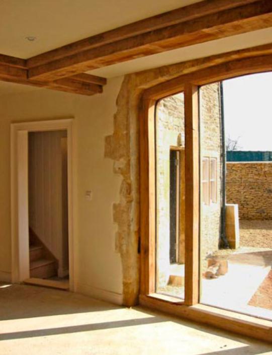 corsham ostlers house oak and lime work
