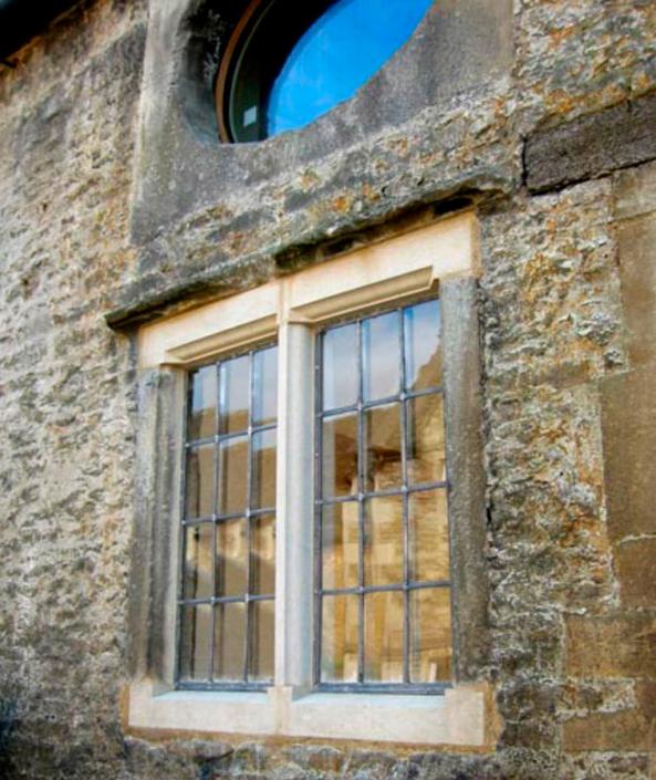 corsham stonework and leaded light repair