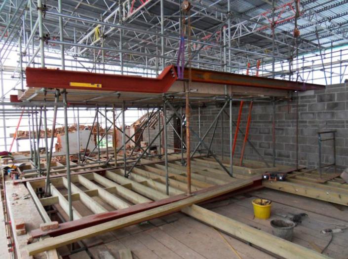 dorset estate major remodelling of listed building
