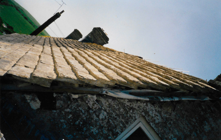 purbeck stone roof tiles