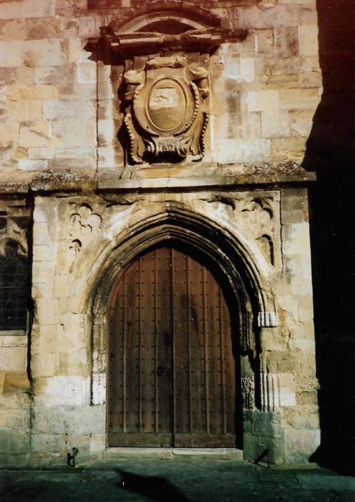 wiltshire church doorway